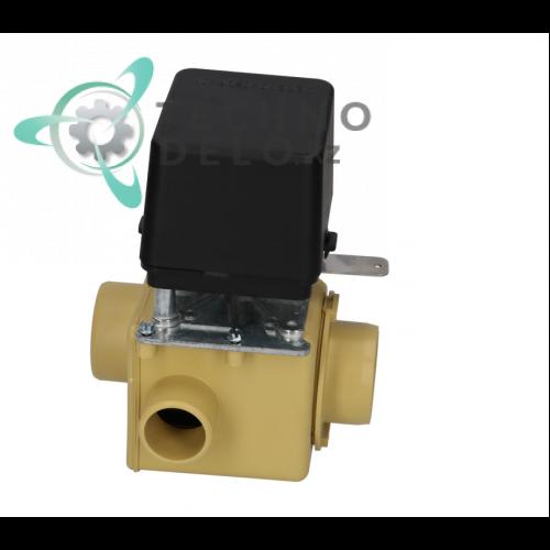 Клапан сливной MDB-C-2 230В/17А для промышленной стиральной машины Ipso, Socolmatic и др.