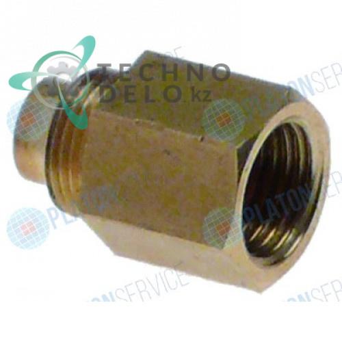 Фитинг M10x0,75 7/32 (28G) L-18,5мм горелки AEM