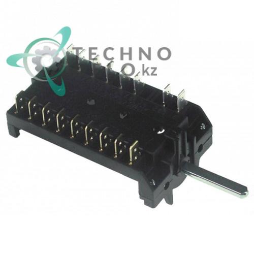 Пакетный переключатель 7 позиций 16A 250V 150°C Smeg ALFA151/161XK 811730232