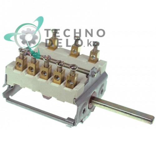 Пакетный переключатель 5 позиций 16A 250V 150°C Smeg 811730109