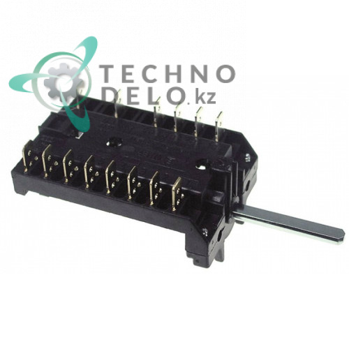 Пакетный переключатель 0-6 позиций 16A 250V max 150°C Smeg 40/51/S20 811730074 811730091
