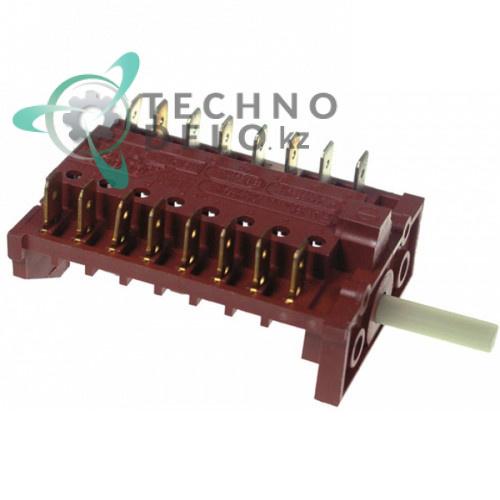 Пакетный переключатель 7 позиций 16A 250V - max 150°C Smeg Alfa 100X 811730128