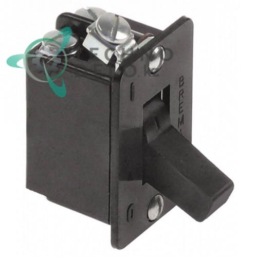 Тумблер Bremas 2NO 400В 10А 120704 для посудомоечной машины Comenda F2/F3