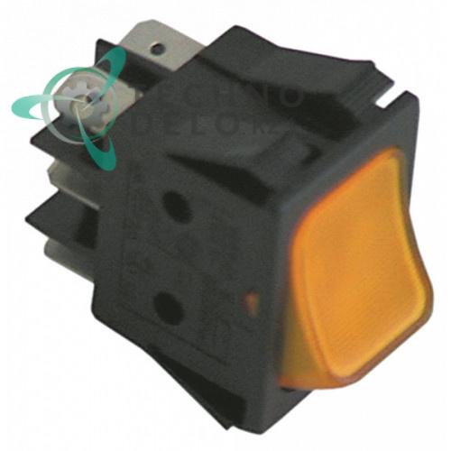 Кнопка пуск возвратная 16A 250В 50GI851143 для оборудования Bezzera, Grandimpianti, Danube и др.