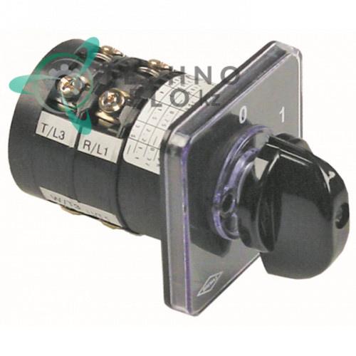Выключатель Bremas CA0120004 380В 0-1 213003 5320010 для Elettrobar, MBM-Italien, Pizza-Group и др.