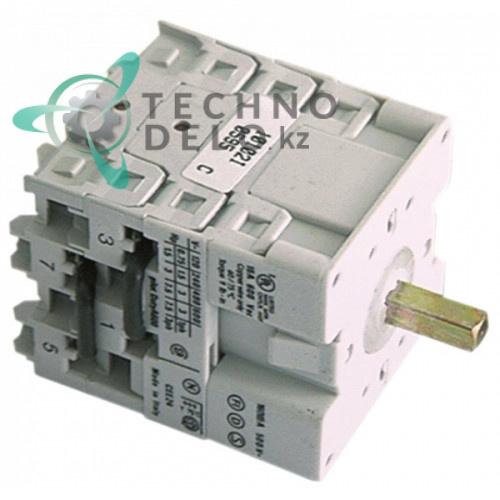 Выключатель Breter 0-1 690В 16А ось 5x5x20мм 4235 для ATA AF73PS, AF78PS, AL50PS, AL60PS и др.