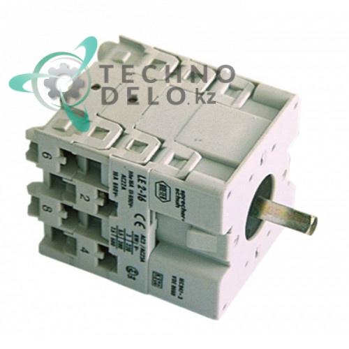 Выключатель Breter ось 5x5мм 2 положения 4273 посудомоечной машины ATA AF61D, AL40D, AL45D и др.