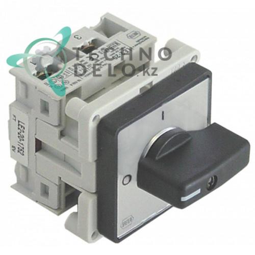 Выключатель Breter LE2-20-1752 0-1 690В 16А 63.7.0850 для тостера CF Cenedese TN30 и др.