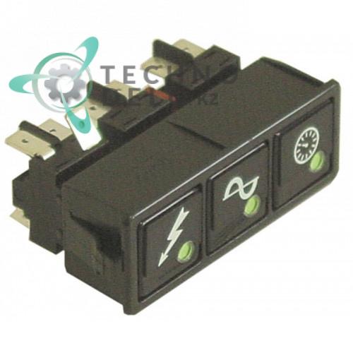 Комплект кнопок 926190 DEP61 посудомоечной машины Colged, Elettrobar, MBM и др.