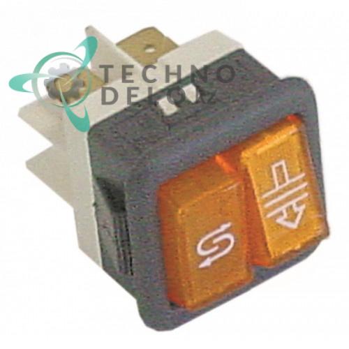 Переключатель 1NO/лампа 230В 16А 130470 для Comenda F90M/LF320/LF323/ LF450 и др.