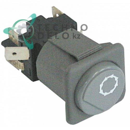 Кнопка START серая 2CO 250В 130459 посудомоечной машины Comenda, Hoonved, Mareno