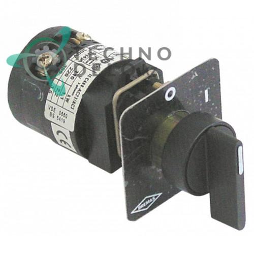 Выключатель Bremas A1200 12A 2 положения для посудомоечного оборудования и др.