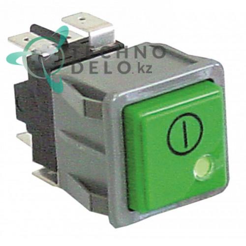 Кнопка (включатель главный) 2CO 250В 15865 посудомоечной машины Dihr, Kromo и др.