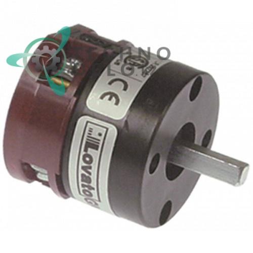 Выключатель Lovato GN209479U 0-1 690V 20A ось 6x6мм 32W1200 для Angelo-Po, ATA и др.