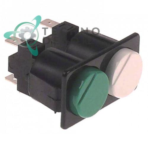 Комплект кнопок 103320 (230В 16А) для посудомоечной машины Krupps C432, Koral и др.