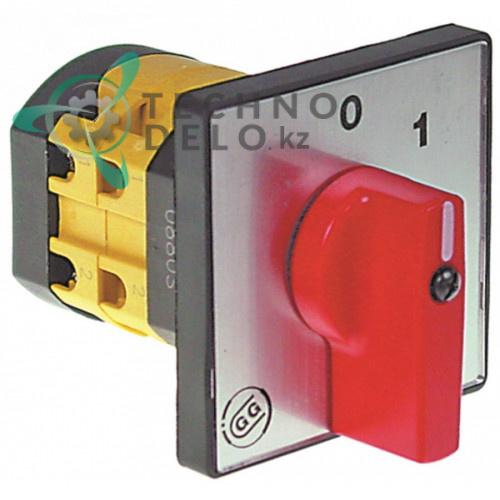 Выключатель Giovenzana PO16 600В 16А ось 5x5 для оборудования CB (арт. 07040031)