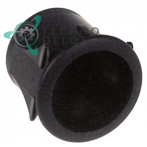 Корпус кнопки ø24 пластиковый для SMEG ALFA143MF, ALFA135BE, ALFA135V6, ALFA135VE, ALFA135XE и др.
