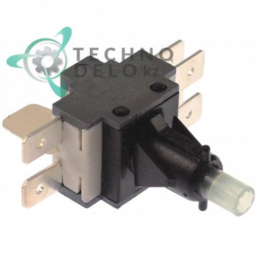 Кнопка 2CO 250V 16A 80804 2001327H для Colged, Elettrobar, MBM Italien, Rancilio и др.