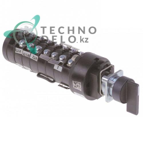 Переключатель поворотный Bremas CS0127593 400В ось 5x5мм картофелечистки Agustoni Duplex и др.