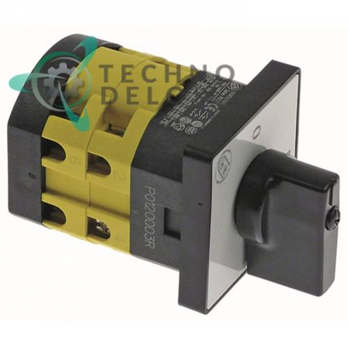 Выключатель Giovenzana PO20 0-1 690В 12А ось 8x8мм для тестомеса IGF (арт. 2200/S162Z35)