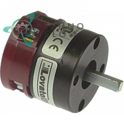 Выключатель Lovato GN209481U 0-1 690В 20А ось 5x5мм для ATA AL40, AL40PS, AL45, AL45PS и др.