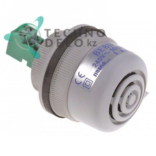 Сигнализатор 40VAC D40мм 82дБ IP54 C3601 для Tecfrigo