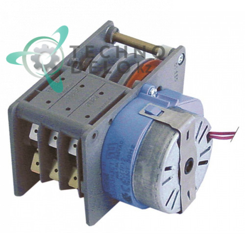 Таймер-программатор Fiber P255J03H3C1 120 секунд 230В 3 камеры 18010591 CETF12 для Nuova Simonelli, Omniwash