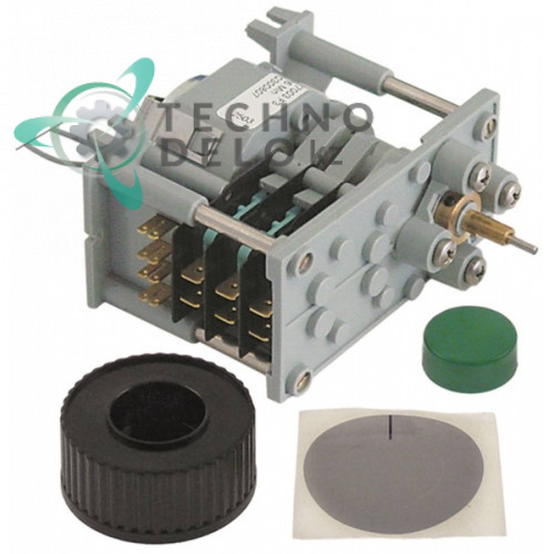 Таймер-программатор CDC 7003F 230В 6 минут 3 камеры 0300807 для посудомоечной машины Amatis, Lamber и др.