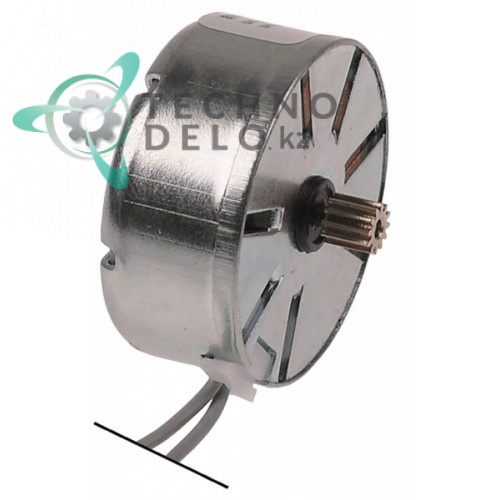 Микромотор CDC M37RN 24VAC диаметр 37мм для программатора посудомоечного и холодильного оборудования