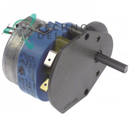 Таймер Fiber P245J01C118 20 секунд 230В ось 4x6,4x25мм для печи Angelo-Po BX101E и др.