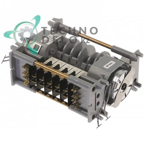 Таймер-программатор CDC тип 7805DV 230В 40 секунд /4 минуты 5 камер 2 мотора CETD1224BGB для Omniwash и др.