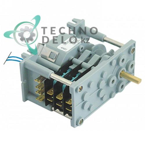 Таймер-программатор CDC 7903F 120 секунд 230В ось 6x4,6мм 12024089 Z403002 посудомоечной машины Fagor LVC/LVR/MF и др.