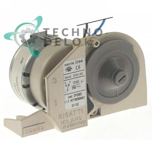 Таймер Bigatti D94.00 SYC002 1 минута 230V RTFOC00042 для печи MBM, Dexion и др.