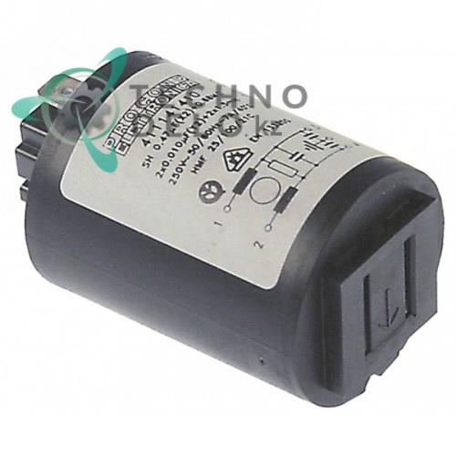 Фильтр помех электронный 411141410 для Electrolux, Zanussi (049901)