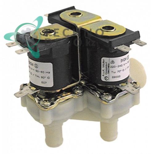 Клапан электромагнитный тройной Muller 230VAC 3/4 d14.5мм 5001062 печи Convotherm OS10.10 и др.