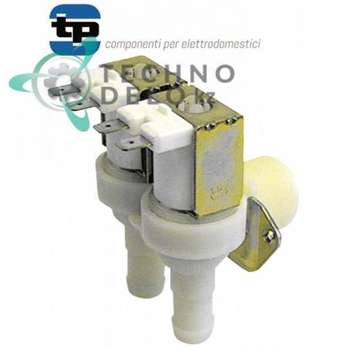Клапан электромагнитный двойной 230В ø 13,5 мм / универсальный