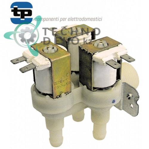 Клапан электромагнитный тройной TP 3/4 11.5мм 230VAC 26632 для Hoonved, Whirlpool и др.