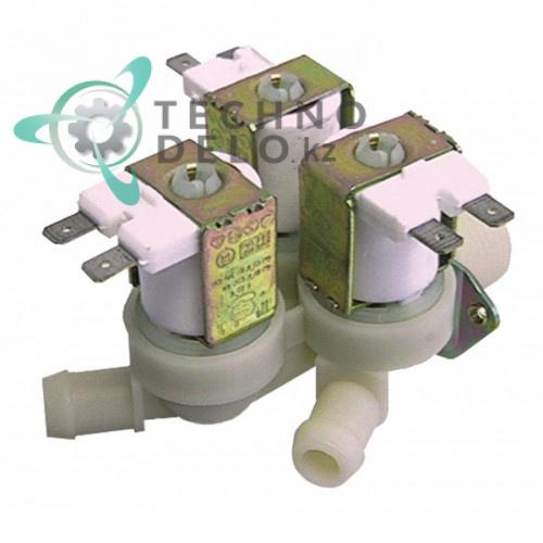 Клапан электромагнитный TP тройной 230VAC 3/4 d14мм E00010011 для Emmepi, Candy и др.