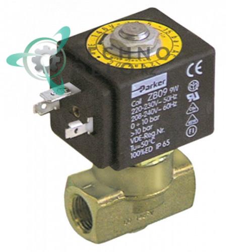 Клапан электромагнитный Parker VE-146 1/4 катушка ZB09 24VAC (переменный ток) для Azkoyen и др.