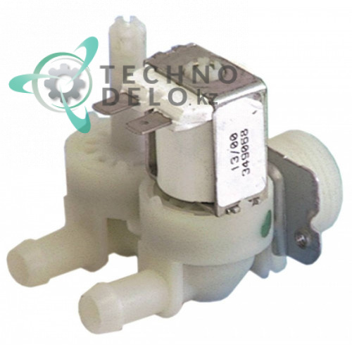 Клапан электромагнитный двойной Elbi 230VAC 3/4 d11.5мм 2 л/мин CM19865509