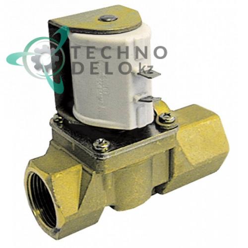 Клапан электромагнитный Elbi 230VAC 3/4 IG L78мм 33G0100 для Angelo Po, Electrolux, Mareno, Zanussi