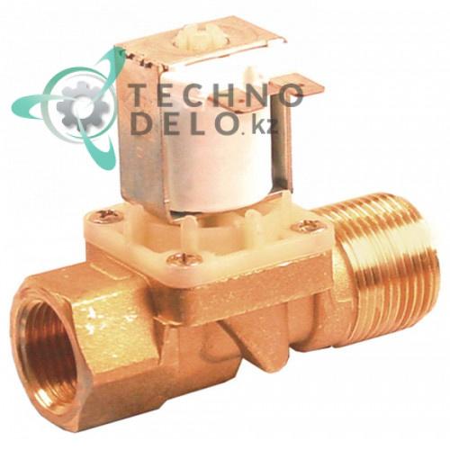 Клапан электромагнитный Elbi 230VAC L78мм 3/4 AG 1/2 IG 240008 045497 для Elettrobar и др.