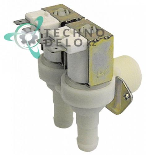 Клапан электромагнитный двойной TP 24VAC 3/4 d14мм 14131 120168 для ATA, Comenda  AC135/AC90 и др.