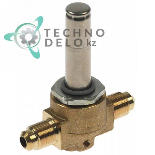 Корпус клапана Castel NC 1020/2S резьба 1/4 SAE для Indesit, Whirlpool и др.