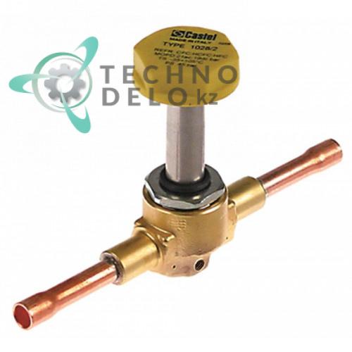 Клапан (без катушки) Castel NC 1028/2S, N20410 льдогенератора Brema, Electrolux, NTF, Fagor и др.