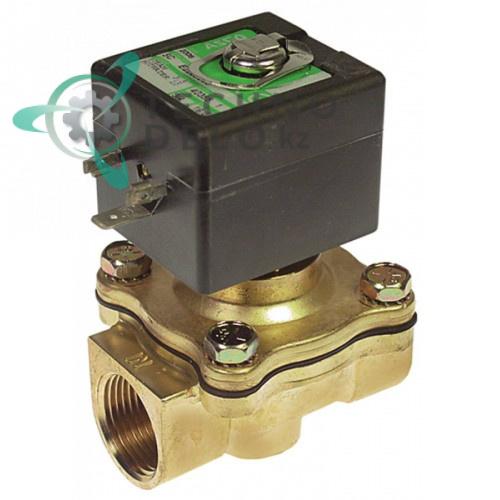 Клапан электромагнитный Asco 222 3/4 L71мм 230VAC 400425-117 296795 для Hobart AMX/AUX-E и др.