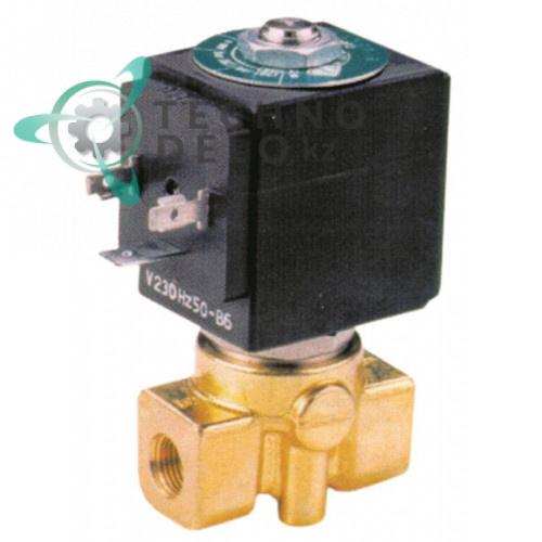 Клапан электромагнитный ODE 21A3KV25 21A 1/8 L40мм 3,2 л/мин катушка BDA 230VAC (переменный ток)