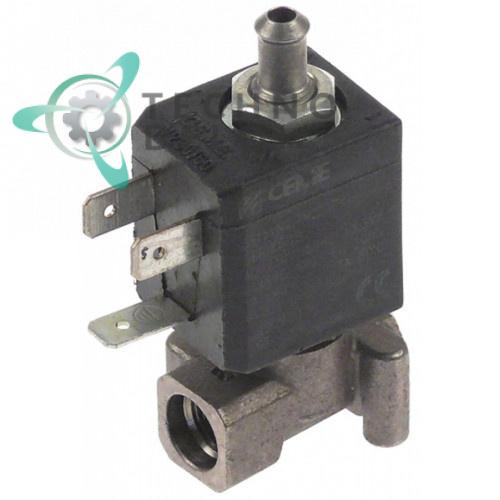 Клапан электромагнитный CEME 588 резьба 1/8 L30мм катушка 2700 230VAC (переменный ток)
