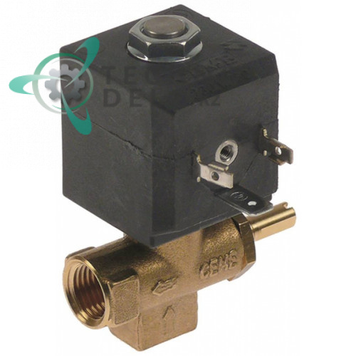 Клапан электромагнитный CEME 230VAC 1/4 04100024 кофемашины Nuova Simonelli и др.