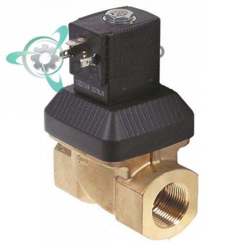 Клапан электромагнитный Burkert 6213 3/4 L80мм 24VAC TR0090 для Silanos и др.